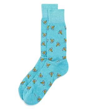 The Men's Store at Bloomingdale's - Bees Socks - 100% Exclusive