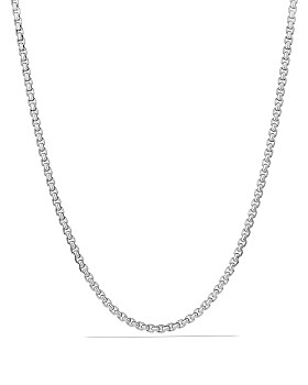 David Yurman - Large Box Chain Necklace, 22""