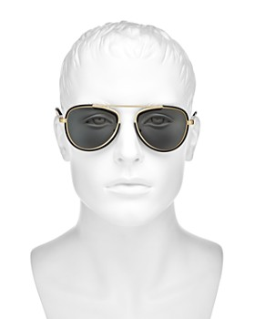 Versace Collection - Men's Brow Bar Aviator Sunglasses, 42mm
