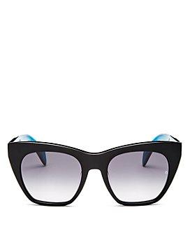 rag & bone - Women's Cat Eye Sunglasses, 52mm