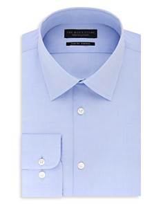 The Men's Store at Bloomingdale's Solid Stretch Slim Fit Dress Shirt - 100% Exclusive_0