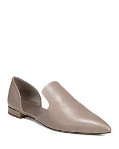 Vince - Women's Damris Calf Leather d'Orsay Flats