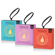 Spongelle - Flower Body Wash Infused Buffers Collection