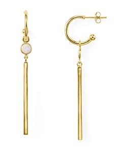 Argento Vivo Simulated Opal Linear Drop Earrings - Bloomingdale's_0