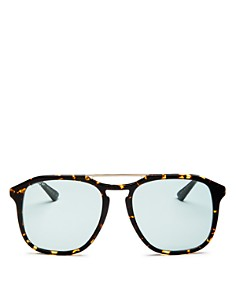 Gucci - Brow Bar Square Sunglasses, 60mm