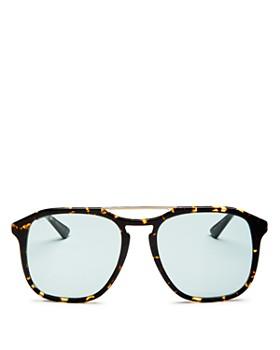 Gucci - Brow Bar Square Sunglasses, 60mm