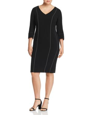 Marina Rinaldi Dalia Sheath Dress