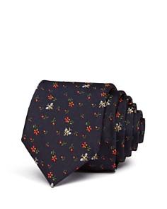 Paul Smith Tossed Flower Bees Skinny Tie - Bloomingdale's_0