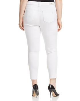 SLINK Jeans Plus - Skinny Ankle Jeans in Charlie