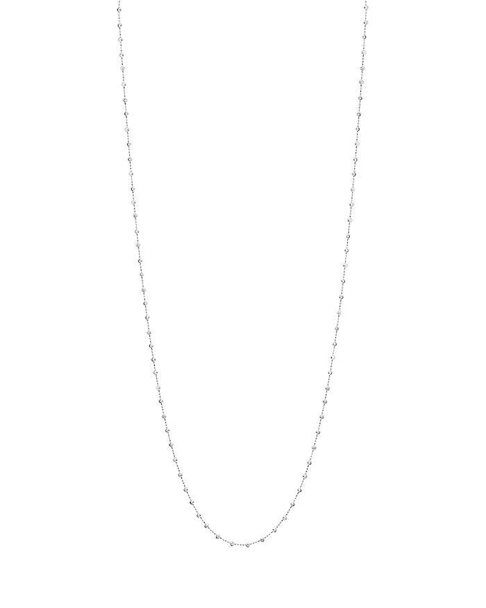 "Officina Bernardi - Moon Bead Chain Necklace, 48"""