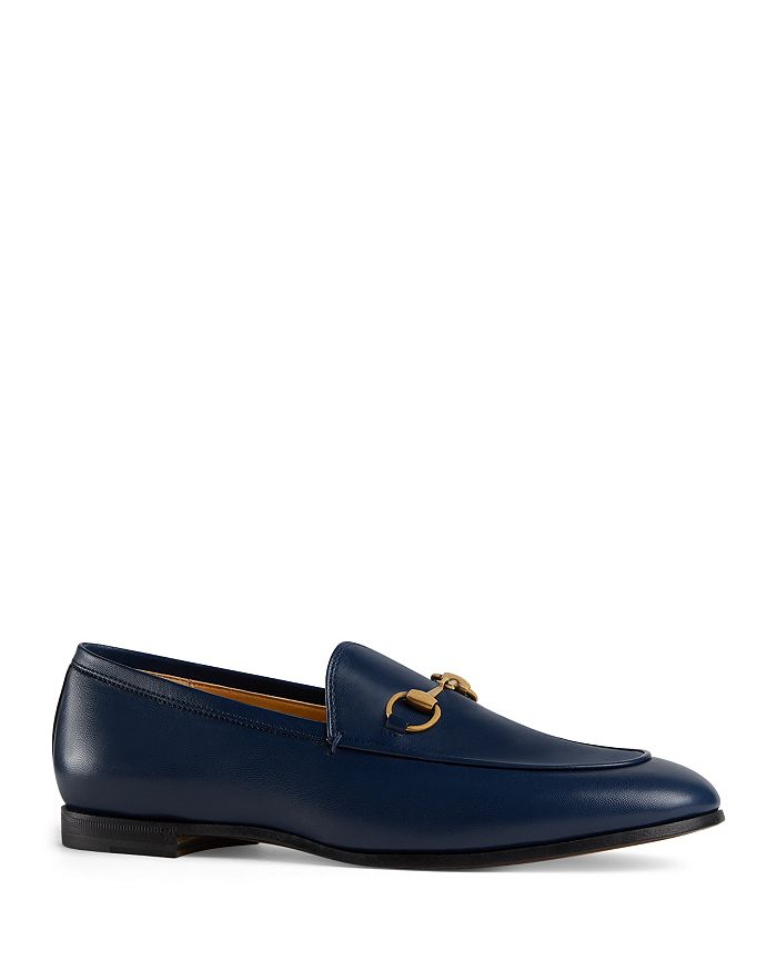 eaf3aee94e3 Gucci Women's Jordaan Leather Loafers | Bloomingdale's