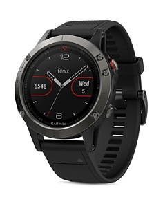 Garmin - fenix 5 Premium Multisport GPS Smartwatch, 47mm