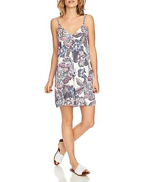 1.state Floral Print Slip Dress