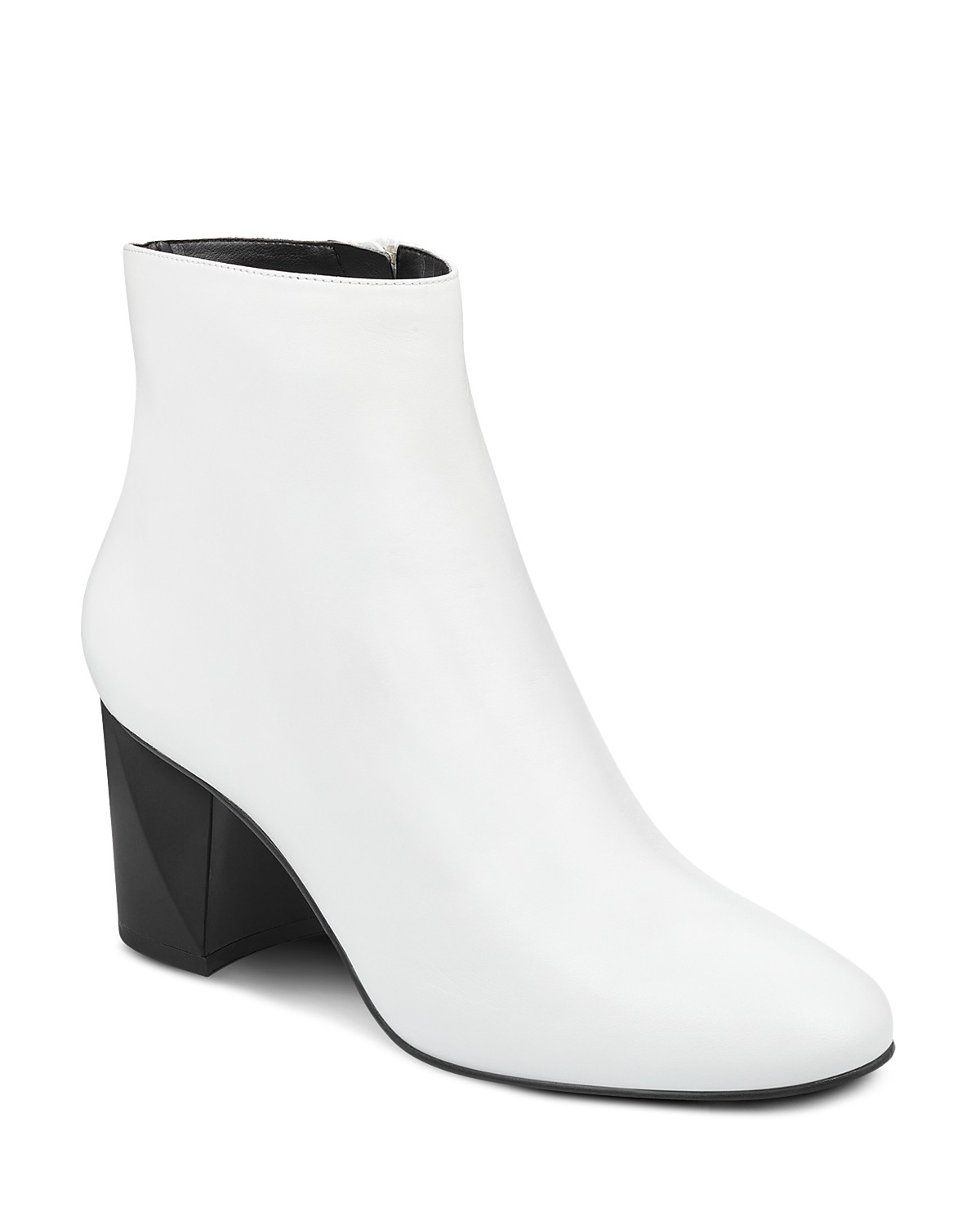 Kendall And Kylie Women's Hadlee Leather Block Heel Booties - 100% Exclusive DePO5XNeHM