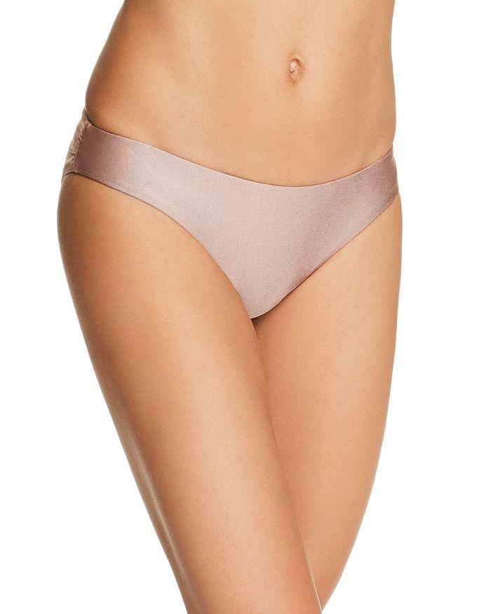 e7e644f96f3fc PilyQ Isla Basic Ruched Side Bikini Bottom | Bloomingdale's