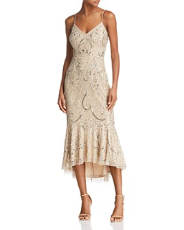 Aidan Mattox - Embellished Midi Dress - 100% Exclusive