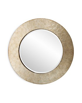 "Howard Elliott - Camelot Round Mirror, 36"" x 36"""