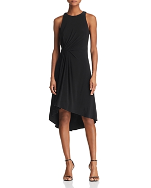 Adrianna Papell Gathered Jersey Dress