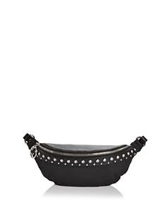 Rebecca Minkoff - Crystal Studded Nylon & Leather Convertible Belt Bag