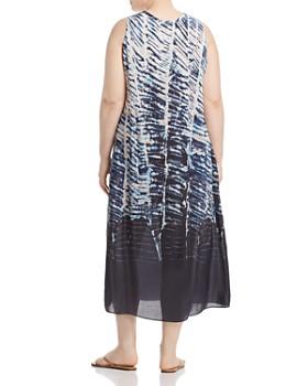 NIC and ZOE Plus - Tinago Printed Sleeveless Midi Dress