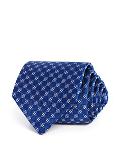 The Men's Store at Bloomingdale's Textured Floret Neat Classic Tie - 100% Exclusive_0