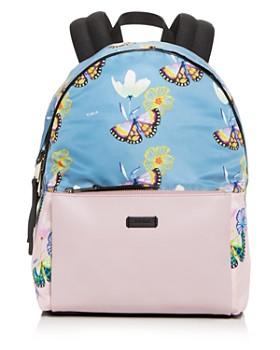 Furla Giudecca Small Fl Print Backpack