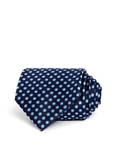 The Men's Store at Bloomingdale's Mini Daisy Classic Tie - 100% Exclusive_0