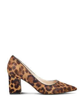 Marc Fisher LTD. - Women's Zalaly Leopard Print Calf Hair Pumps