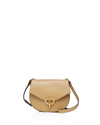 cddb999f298f Sandro - Pepita Leather Saddle Bag
