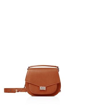 The Kooples Emily Maxi Leather Saddle Bag