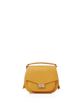 The Kooples - Emily Maxi Leather Saddle Bag ... f271b4d7dc