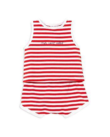 Jacadi - Boys' Sea Wind Sun Striped Tank & Shorts Set - Baby