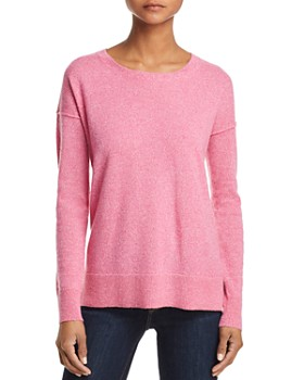 AQUA - High/Low Cashmere Sweater - 100% Exclusive