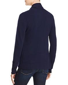 AQUA - Drape Front Cashmere Cardigan - 100% Exclusive