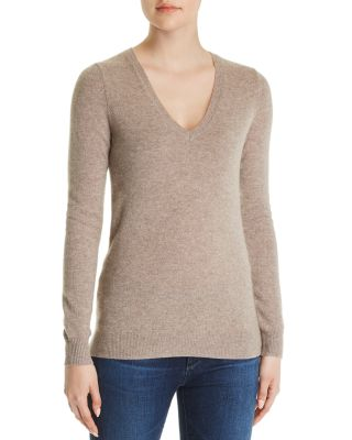 C By Bloomingdale's C by Bloomingdale's V Neck Cashmere