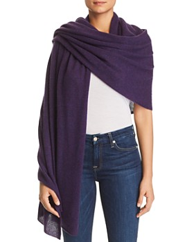 C by Bloomingdale's - Lightweight Cashmere Travel Wrap - 100% Exclusive