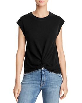 064cadc7eb AQUA - Twist-Front Cashmere Sweater - 100% Exclusive ...