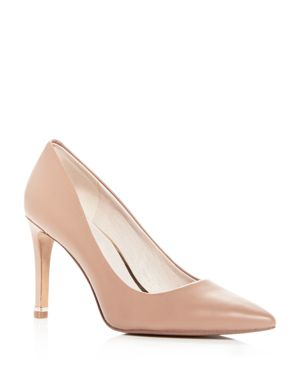 Kenneth Cole Women's Riley Leather Pointed Toe Pumps 3000138