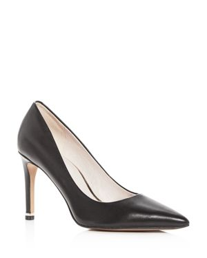 KENNETH COLE WOMEN'S RILEY LEATHER POINTED TOE PUMPS