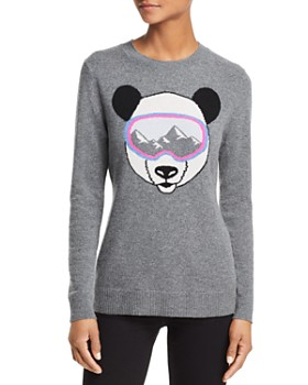 AQUA - Ski Goggle Panda Cashmere Sweater - 100% Exclusive