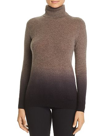C by Bloomingdale's - Dip-Dye Cashmere Turtleneck Sweater - 100% Exclusive