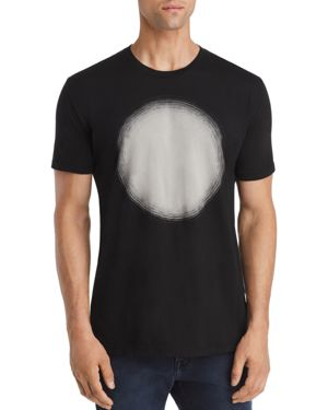 VESTIGE Sunken Circle Graphic Tee in Black