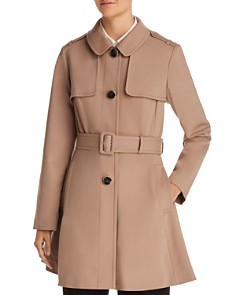 kate spade new york - Belted Swing Trench Coat