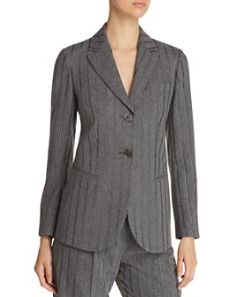 Armani - Two-Button Metallic Stripe Blazer