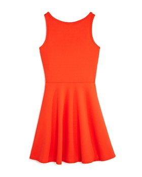 AQUA - Girls' Textured Strappy Fit-and-Flare Dress, Big Kid - 100% Exclusive