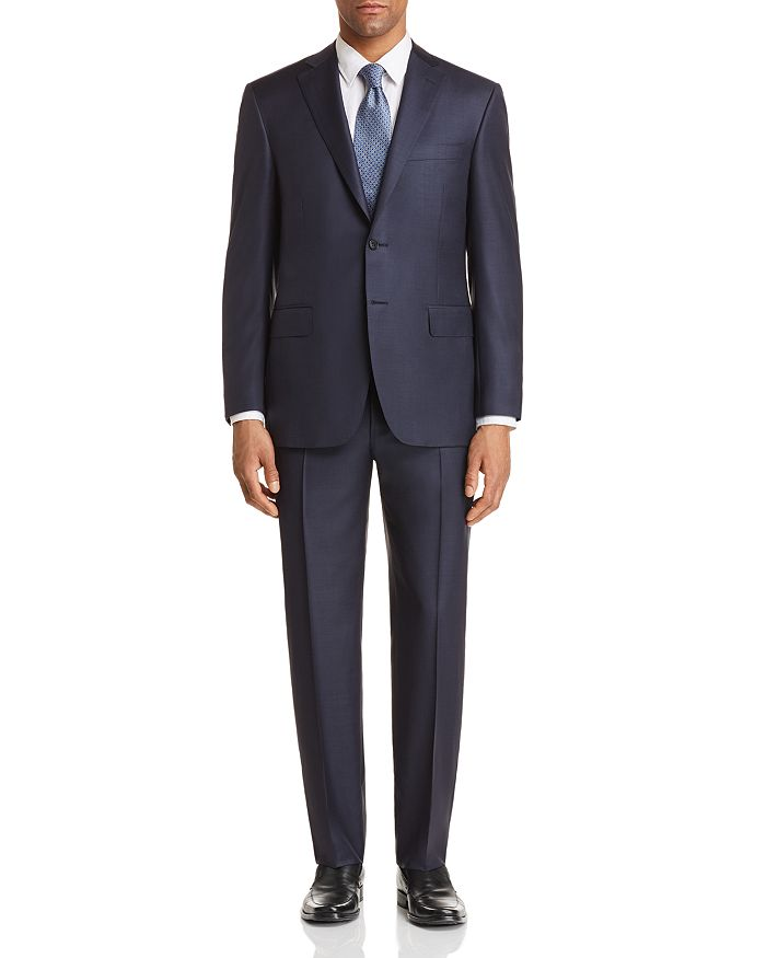 Canali - Sharkskin Classic Fit Suit