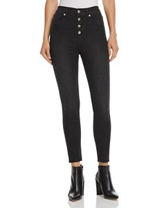 cea8e5dd4853cd Levi's Mile High Super Skinny Jeans in Black Galaxy | Bloomingdale's