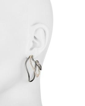 Alexis Bittar - Deconstructed Triple Hoop Earrings