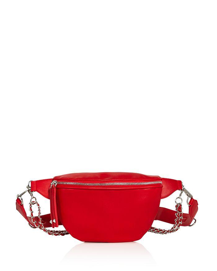 Aqua Convertible Belt Bag - 100% Exclusive In Red/silver