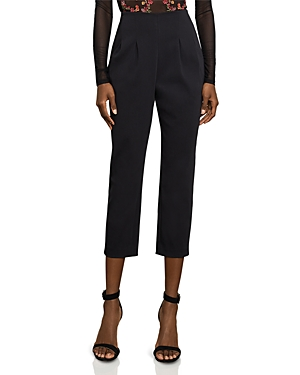 Bcbgmaxazria Pleated Crop Pants